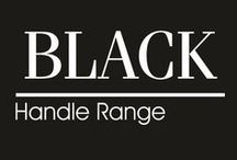 Black Handle Range / Beautifully crafted range of lever handles and accessories designed for both traditional and contemporary settings