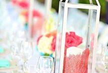 Coral + Gold + Peach Wedding / Coastal Wedding Ideas  / by Barbara Anderson