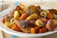 Slow Cooker Recipes / Here are recipes to help make your afternoons calmer - dinner can be cooking all day!