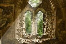 RUINS OF THE ABBEY / .........Tread softly here, in silent reverence......  / by Susan Ward