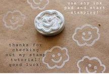 DIY - Stamps & Magnets
