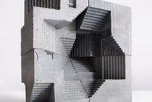 S P A C E / The sculptures a spaces that surround you.