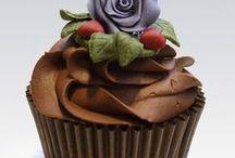 Cupcake / Cupcakes / sütemény, édesség, cupcake, ünnep, cakes, sweets, cupcakes, holiday, feast