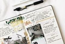 Journaling / Art journals, bullet journals, memory keeping, doodles, collages, notebooks, and sketchbooks.
