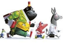 Illustration   Animals / Animal illustrations that I love...