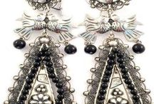 Vintage Inspired Mexican Jewelry / We work with our artisans in Taxco, México to faithfully create some of the most famous and most spectacular vintage-style designs of Mexico's silver history including pieces from Margot de Taxco, William Spratling, the Matl silver shop and Los Castillos.