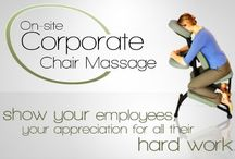 Workplace Massage / Specialising in corporate massage, Office massage, Workplace massage, Event massage, Seated massage.