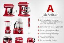 Seria Artisan / Poznaj bliżej najpopularniejszą linię produktów KitchenAid!