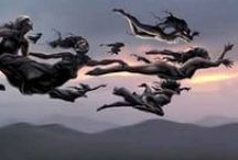 Basque mythology / Euskal mitologia / Sasi guztien gainetik, laino guztien azpitik.