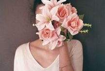 Art - Covert and obscured Ideas  / Obscured portraits using flowers