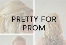 Pretty For Prom / Beautiful hairspiration for prom season!