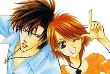 Skip beat / This is a really funny and romantic manga, I love it.  It even makes my heart skip a beat some times (I know it's a really bad joke but some times it's actually true) <3