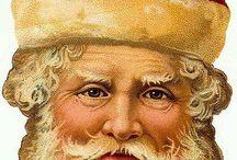 Vintage Illustrations   Santa Claus