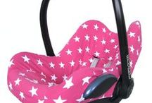 Maxi Cosi | Pink car seat covers / Roze pink en fuchsia Maxi Cosi bekleding car seat covers >> www.stoelsprookjes.nl
