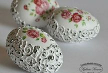 Easter / Easter egg decorations  / by Mily🌹 🌹