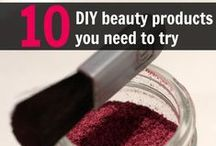 DIY Beauty / Save money, time, and leave the chemicals out of these DIY beauty recipes & ideas.