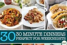 Fast Dinner / For nights when you have absolutely no time, these fast dinner ideas will keep your family fed.
