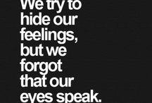 sayings / Sayings
