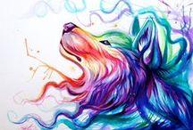 Wolf + Other animals