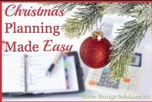 Christmas Planning / Christmas Planning which will help simplify and organize the holiday season.