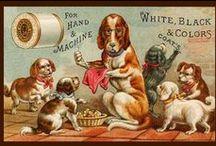 Vintage Illustrations   Dogs