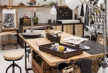 Atelier ◇ Work Space / Crafter Room and ideias