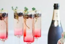 Sparkling cocktails - Tragos y cócteles con champaña - champagne cocktails and drinks