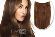 "Secret Hair❤Besthairbuy / Our Secret hair has the silky touch feeling, and also it is the 100% human hair,you have many choices in it.Just chooing the color which you like and also you can get more discount in our ""per day sale activity"""