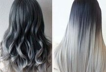 Super Grey❤︎Besthairbuy / I love this kind of color, grey color has been popular in many year, but only those girl who is full of the confidence can hold these kind of color!