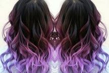 DIY Color by #1B / Here I pick some ombre hair which can be dyed by #1B virgin hair, would you love this kind of hairstyle?!