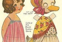 Illustration   Paper Dolls