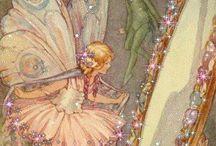 Vintage Illustrations   Fairy / Lovely fairy illustrations