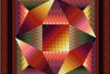 Quilts & Quilting / Pictures, Patterns, these are a few of my favorite things. I'm a fabric junkie. / by Lisa Williams