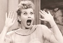 I Love Lucy~ / One of my all time favorite shows.  She could brighten your day with laughter. / by Debra