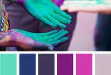 Color Inspiration / I LOVE colour. Here is a few beautiful colour combinations to inspire you.