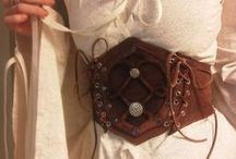 Larp - Leather belt