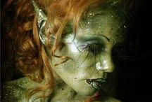 Inspirational makeup, paintings & FX