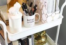 organize / Creative uses and ways to get organized