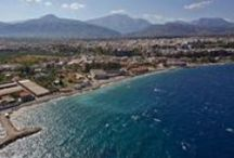 Egio / Aegio or Aigio City / Egio is the nearest city from the Selianitika (@PLAZHOTEL) , about 7klm away.