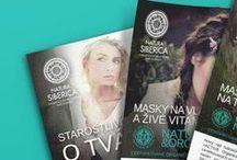 Natura Siberica / Business Cards