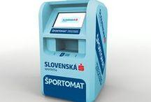 Sportomat / Category Product design - for company Slovenska Sporitelna