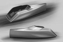 Concept Motorboat / Product design - concept motorboat