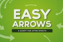 Easy Arrows Script for After Effects / Attach arrows, graphics and pre-comps to a stroke with the Easy Arrows Script for After Effects. Download today: https://modio.tv/downloads/easy-arrows/