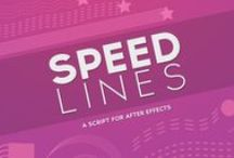 Speed Lines Script for After Effects / Attach strokes to an animated object with the Speed Lines Script for After Effects. Download today: https://modio.tv/downloads/speed-lines/
