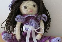 My crochet work / Things crocheted by myself