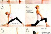 Akupunktio, Yoga, venytykset