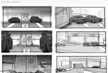 Storyboards / Inspiration for the storyboarding process. http://theplot.io