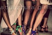 Aquazzura Girls / We love our stylish Aquazzura gals from all over the world!