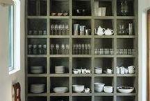 :: kitchen : open shelving ::