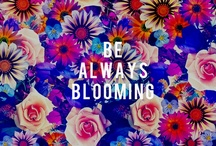 Blooming thoughts